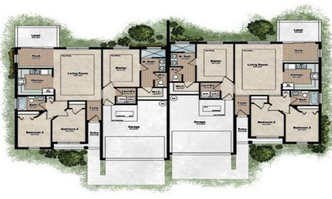 Duplex Home Plan by Duplex Designs Floor Plans Best Duplex House Plans Best