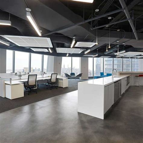 open ceiling office design