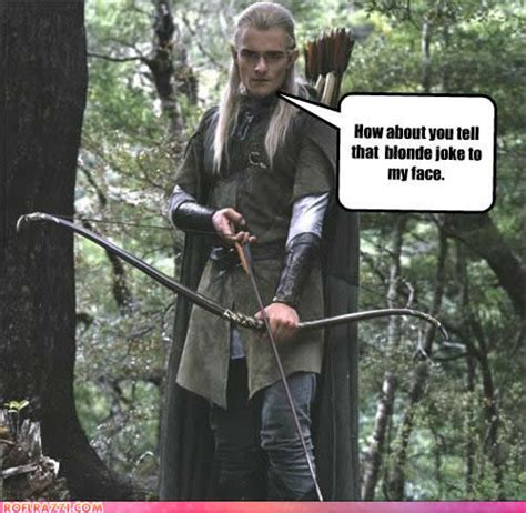 Ignorant Of The Day Orlando Bloom by Jokes On