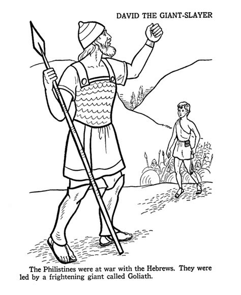 christian coloring pages david and goliath david and goliath coloring page bible coloring pages