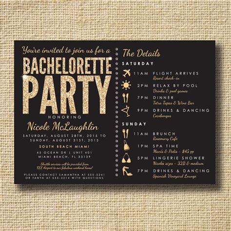 Come With Me Bachelorette Invites by Bachelorette Invite Stagette Invite By