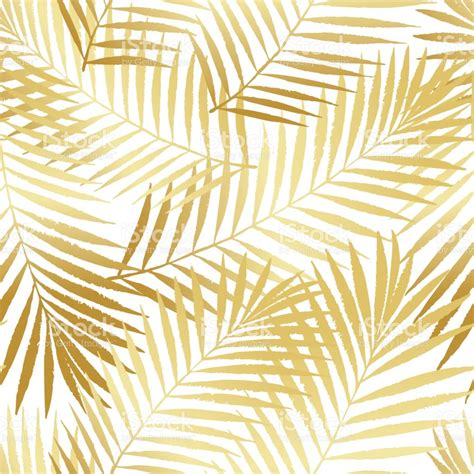 palm leaf pattern vector summer tropical palm tree leaves seamless pattern vector