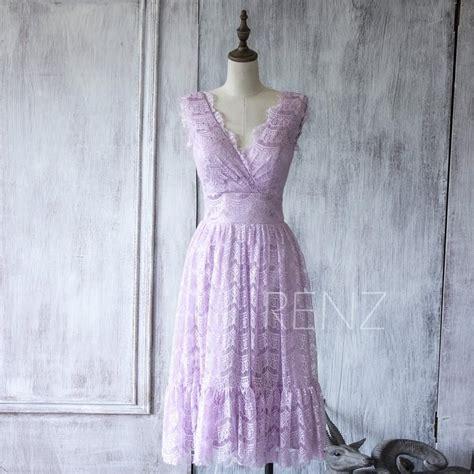 light purple lace dress 2016 light purple lace bridesmaid dress orchid