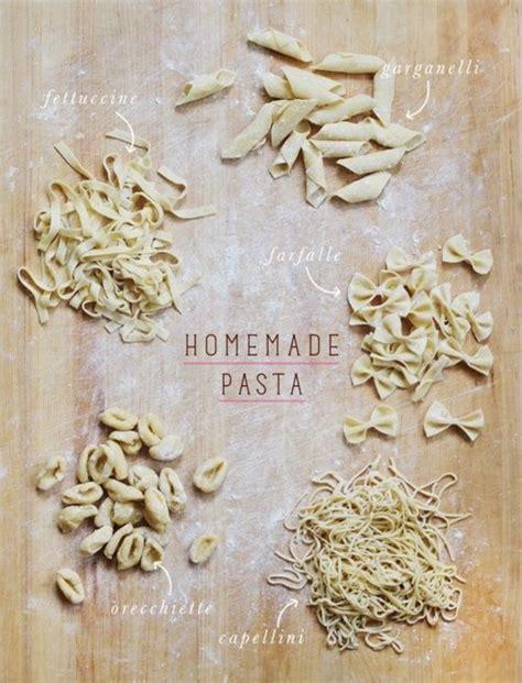 Handmade Pasta Shapes - pasta mangia pasta