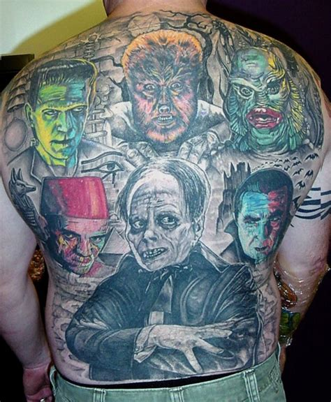 tattoo universal ink 196 best horror ink images on pinterest