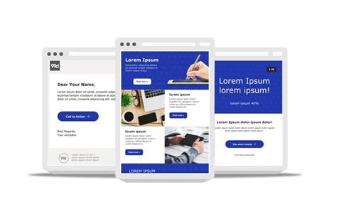 free responsive email templates 60 responsive html email newsletter templates 187 css author