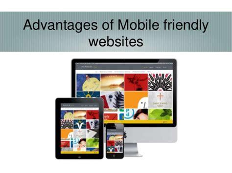 mobile friendly websites advantages of mobile friendly websites