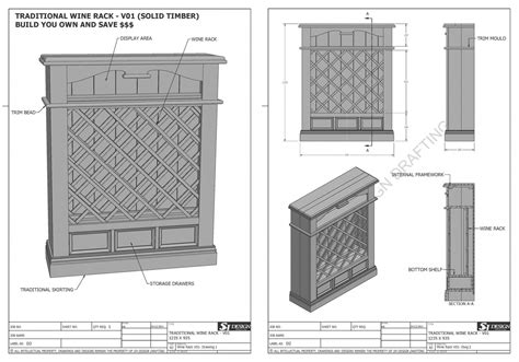Traditional Wine Rack 1235 X 935 Easily Build Your Own Save Full Plans V1 Wine Rack Template