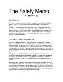 safety memo template the safety memo