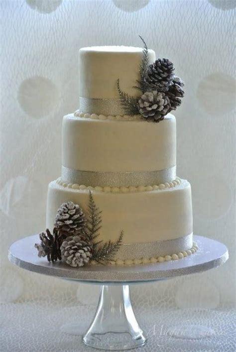 Hochzeitstorte Winter by Winter Wedding Winter Wedding Cake 2062605 Weddbook
