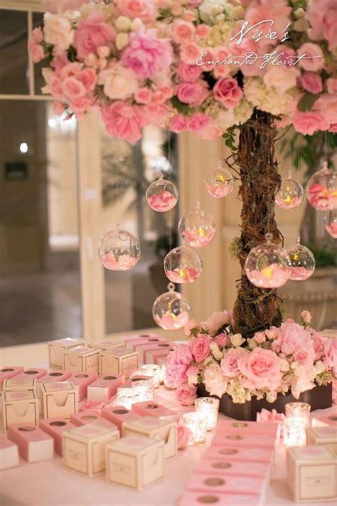 themed wedding centerpiece ideas best 25 pink wedding centerpieces ideas on
