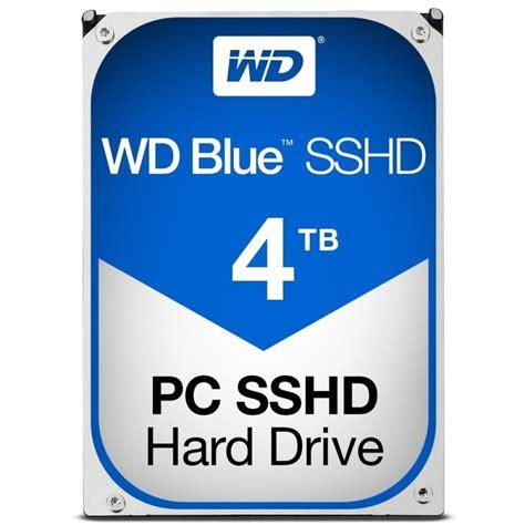 Hdd 3 5 Wd Blue 4tb wd blue sshd 4tb 3 5 quot sata solid state hybrid drive ebuyer