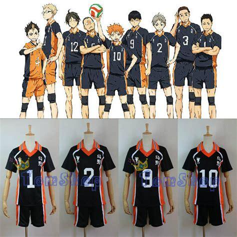T Shirt Anime Haikyuu Karasuno Club popular shorts buy cheap shorts lots from china shorts