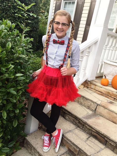 tween nerd costume cheap  easy super cute modest