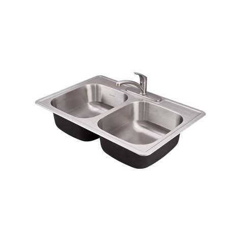 franke prep sink franke drop in stainless steel 20 in 3 single basin