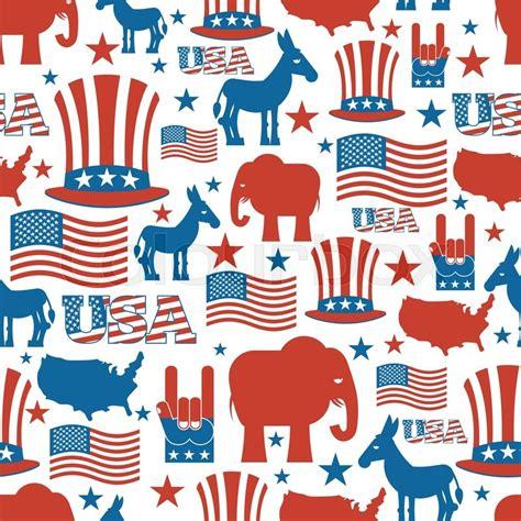 pattern making jobs usa american seamless pattern usa election symbols national