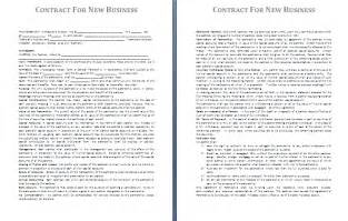 Business Contract Template by Business Contract Template Free Contract Templates