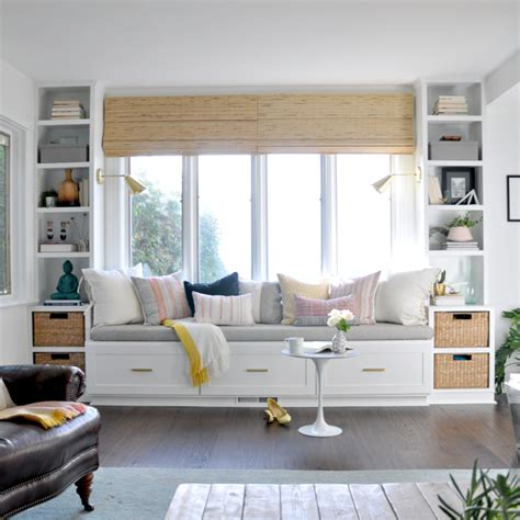 Beautiful Window Seat To Complete Furniture Arrangement In Ways To Arrange Living Room Furniture