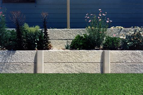 Two Tier Garden Limestone Wall Retaining Perth Garden Wall Australia