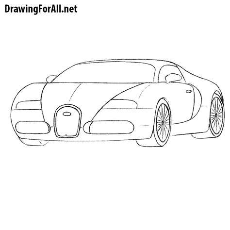 How To Draw A Drawingforall by How To Draw A Bugatti Drawingforall Net