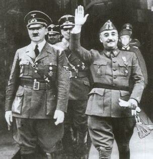 hitler biography spanish the spanish case was it fascism francisco franco