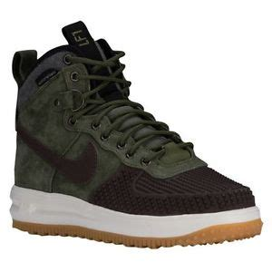 mens nike duck boots nike lunar 1 duck boots sneakerboots army olive gum