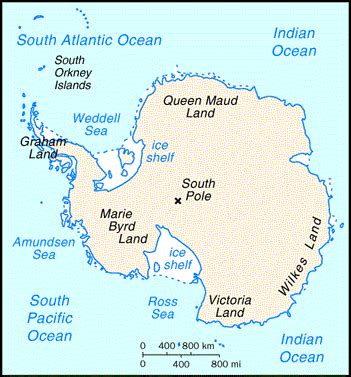 antarctica products and english languages