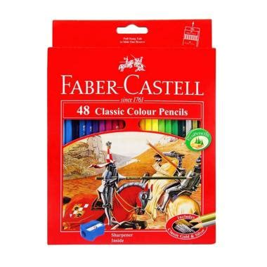 Gunting Anak Faber Castell Murah jual daily deals faber castell pensil warna classic colour pencils 48 colour