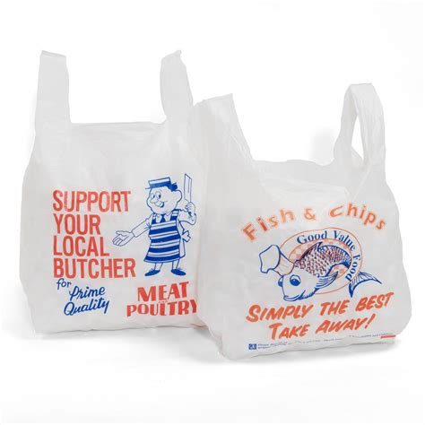 carrier bag fish and chip vest carrier bags your one stop packaging shop