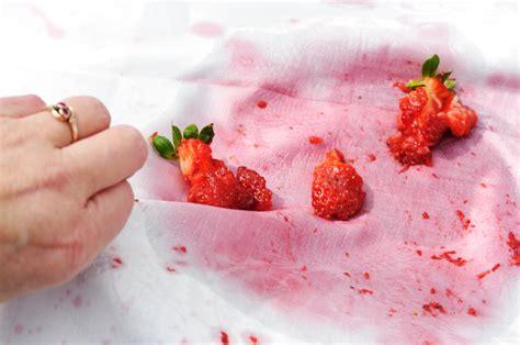 flecken entfernen erdbeerflecken entfernen 187 hocheffiziente hausmittel
