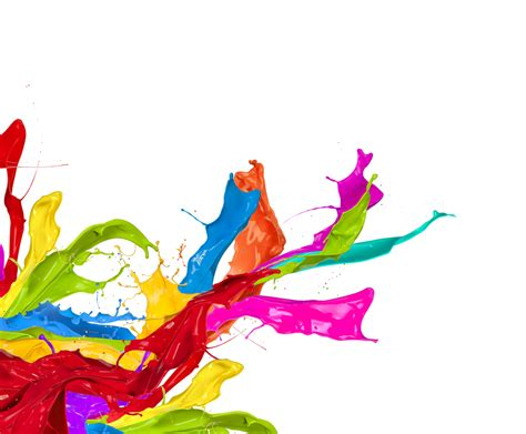 paint colorful painting clipart paint splodge pencil and in color