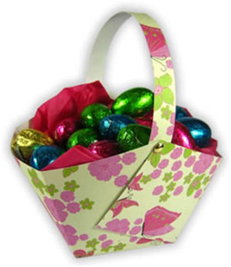 Make An Easter Basket From Paper - pin basket easter paper printable a of 5 quality