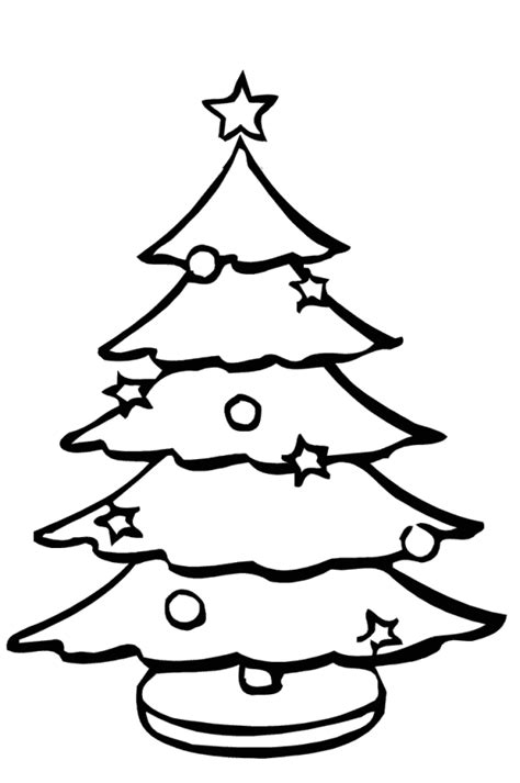 sketch christmas tree drawing merry christmas happy
