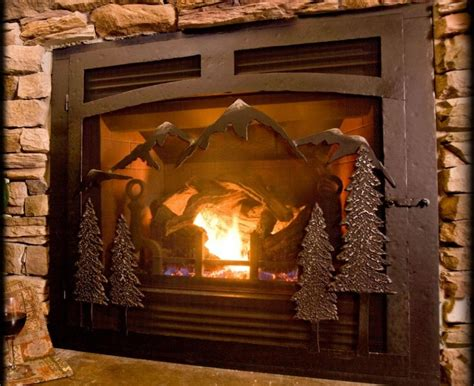 Fireplace Custom by Beautiful Custom Fireplace Doors For Your Interior Space