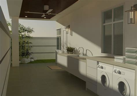 outdoor laundry modern penang malaysia  outdoor