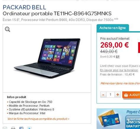 bons plans ordinateur portable ziloo fr