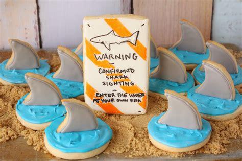 baby shark cookies munchkin munchies shark fin cookies