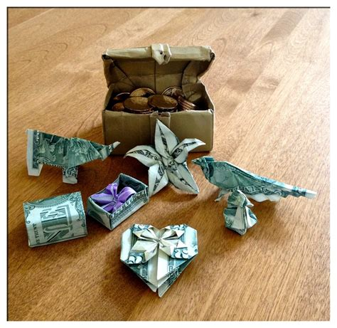 Origami Treasure Chest - 17 best images about origami boxes and containers on