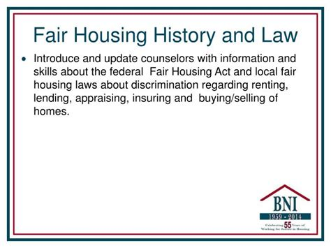 federal fair housing act federal fair housing act 28 images ppt housing counselors and fair housing in