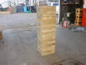 17 best ideas about outdoor jenga on