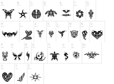 tribal tattoo fonts tribal font www imgkid the image kid has it