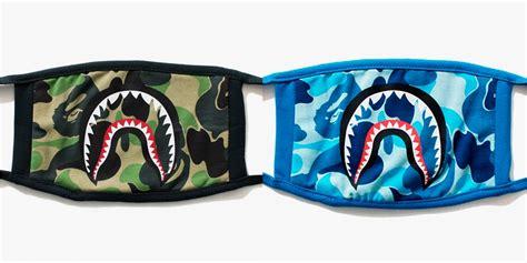 Masker Supreme Masker Bape bape abc camo shark masks hypebeast