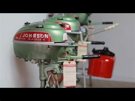 old johnson boat motors johnson seahorse td 20 vintage outboard youtube