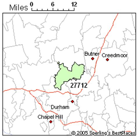 zip code map durham nc best place to live in durham zip 27712 north carolina