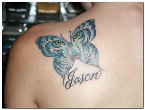 tiger butterfly tattoo designs tiger butterfly design meaning images