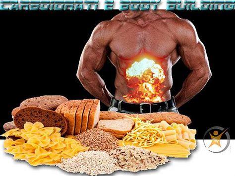 alimenti bodybuilding carboidrati e building