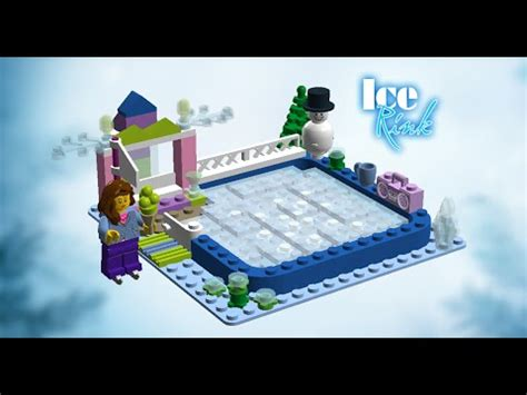 how to make a ice skating rink in your backyard my lego ideas projects ice skating rink meadow house