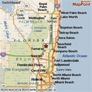 coral florida map coral springs florida