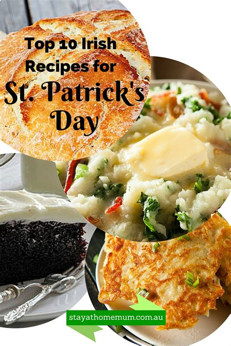 st s day recipes from ireland top 10 recipes for st s day stay at home