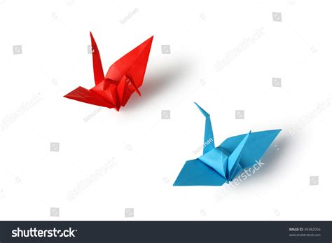 Traditional Origami Crane - japanese traditional origami crane stock photo